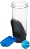 Imagem de Garrafa Shaker Shake Go Fit Contigo Azul 709ml