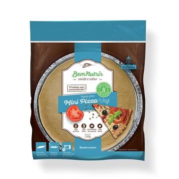 Imagem de Mini Pizza Veg Bem Nutrir Sem Glúten Sem Lactose 130g
