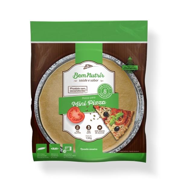Imagem de Mini Pizza Bem Nutrir Sem Glúten Sem Lactose 130g