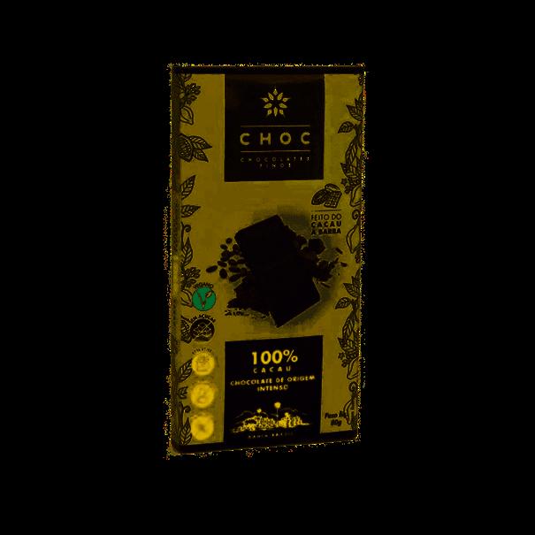 Imagem de CHOC Chocolate 100% Cacau Zero  80g
