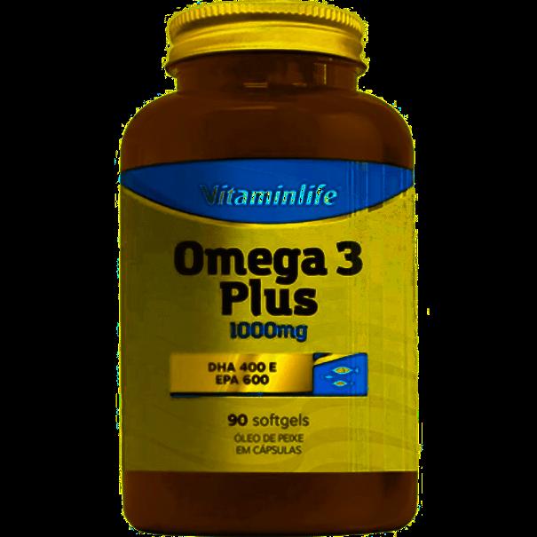 Imagem de Omega 3 Plus Vitamin Life 1000mg 90 Caps