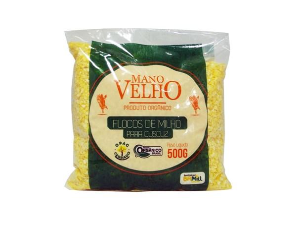 Imagem de Flocos de Milho Orgânico Mano Velho 500g