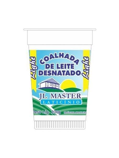 Imagem de Coalhada de Leite Desnatado Light JL Master Laticínio 200g