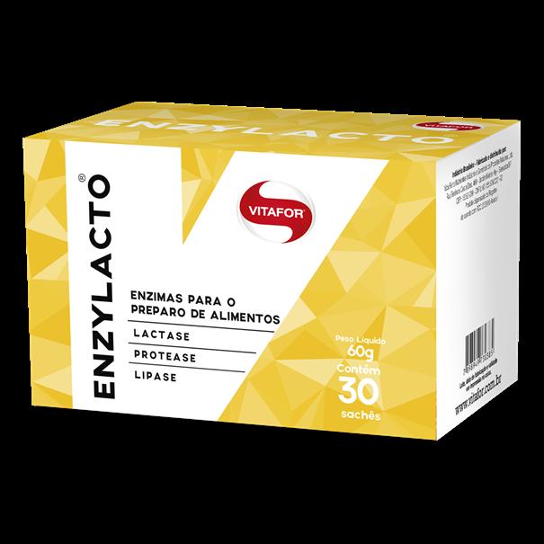 Imagem de Enzylacto - enzimas digestivas 30 sachês 2g Vitafor
