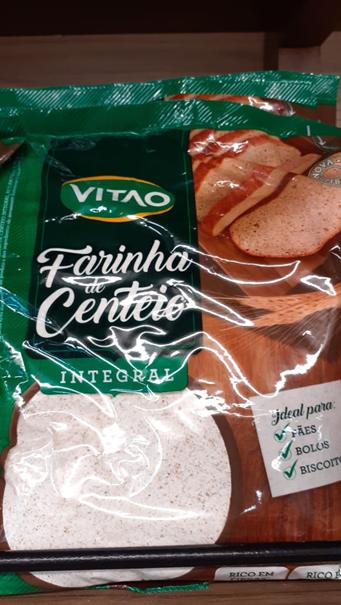 Imagem de Farinha de Centeio Integral Vitao - 500g