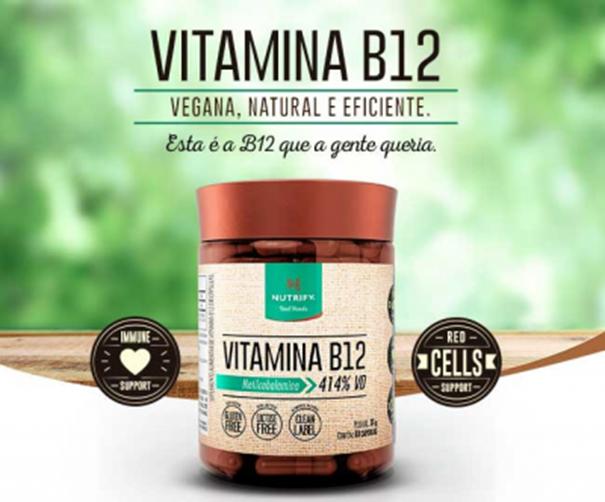 Imagem de Vitamina B12 Vegan Nutrify 60cps