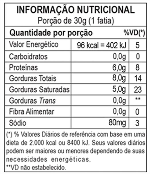 Imagem de Queijo Mussarela de Búfala Mini Nozinho Bufalíssima (100 G)