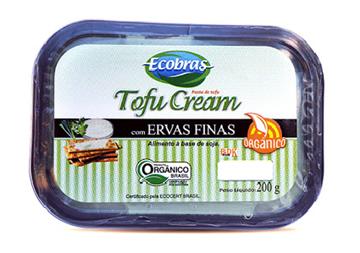 Imagem de Tofu Cream com Ervas Finas Orgânico Ecobras 200g