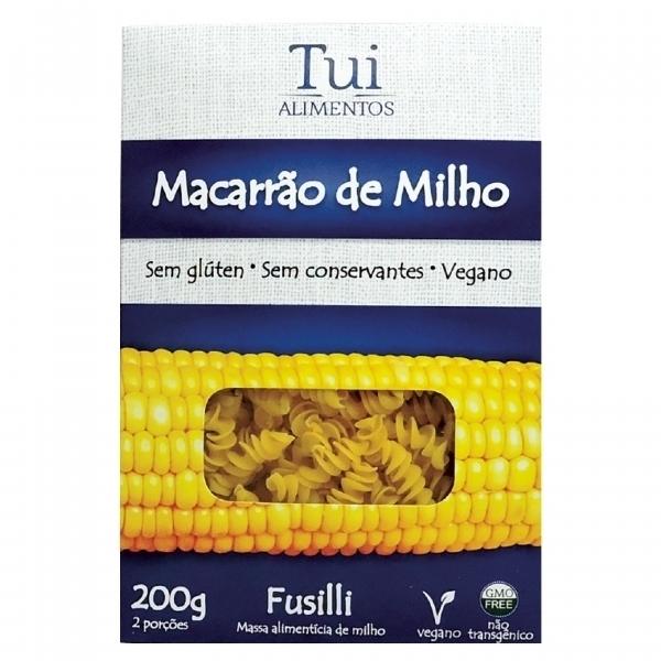 Imagem de Macarrão de Milho Fusilli Tui Alimentos Sem Glúten  200g