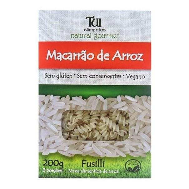 Imagem de Macarrão de Arroz Fusilli Sem Glúten Tui Alimentos 200g