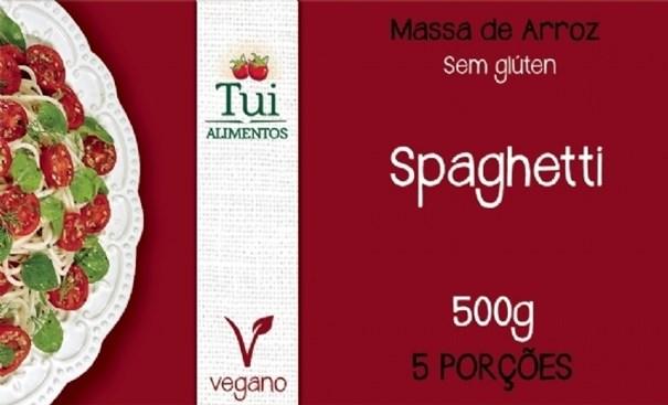 Imagem de Macarrão de Arroz Espaguete Sem Glúten Tui Alimentos 500g