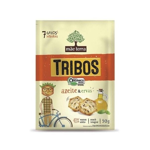 Imagem de Snack Integral Orgânico Sabor Azeite e Ervas Tribos Mãe Terra 50g