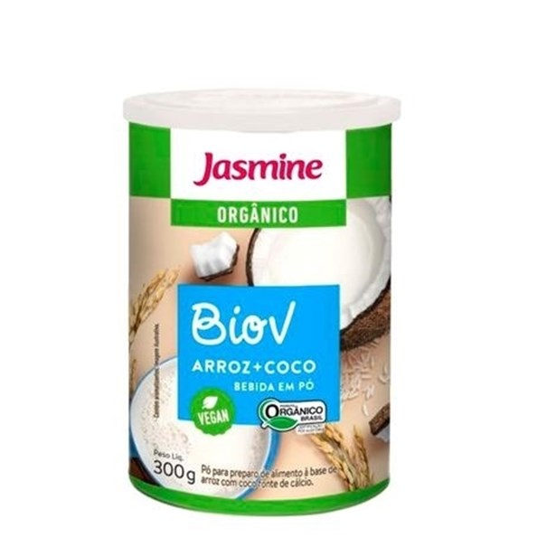 Imagem de Bebida Vegetal BioV Arroz com Coco em Pó Jasmine 300G