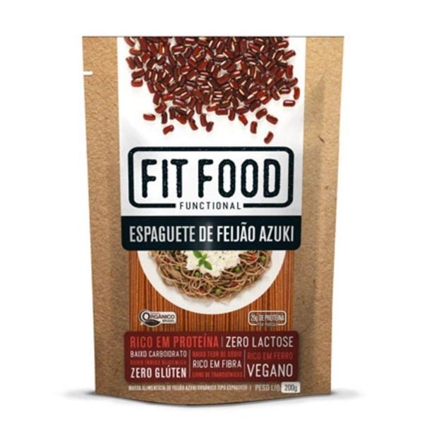 Imagem de Massa Espaguete de Feijão Azuki Fit Food 200g