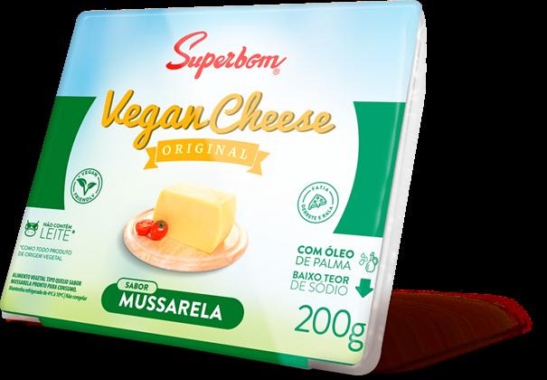 Imagem de Queijo Vegan Cheese Mussarela Superbom 200g