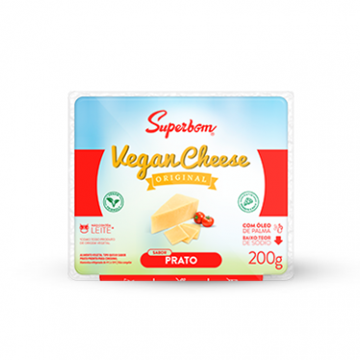 Imagem de Queijo Vegan Cheese Prato Superbom 200g