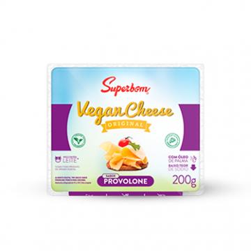 Imagem de Queijo Vegan Cheese Provolone Superbom 200g