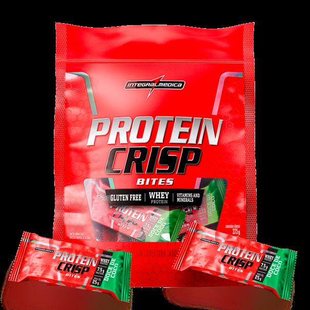 Imagem de Barra de Proteína Protein Crisp Bites Integral Médica Coco 375G