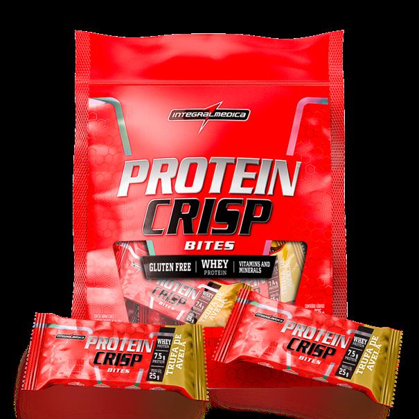 Imagem de Barra de Proteína Protein Crisp Bites Integral Médica Trufa de avelã 375G