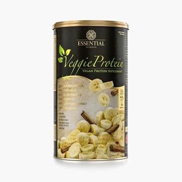 Imagem de Veggie Protein Banana com Canela Essential Nutrition 462g
