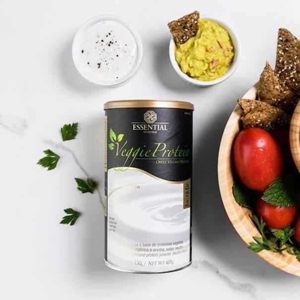 Imagem de Veggie Protein Neutro Essential Nutrition 405g