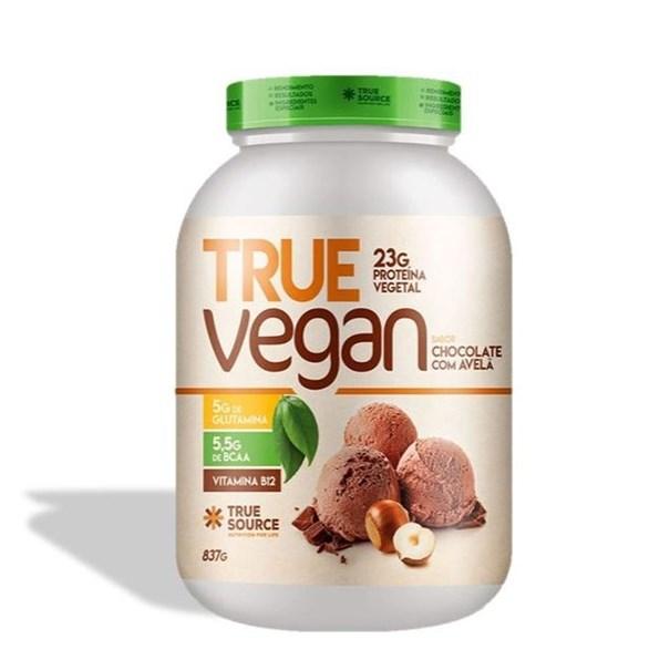 Imagem de True Vegan Chocolate Avelã Proteína de Ervilha e Arroz - 837g