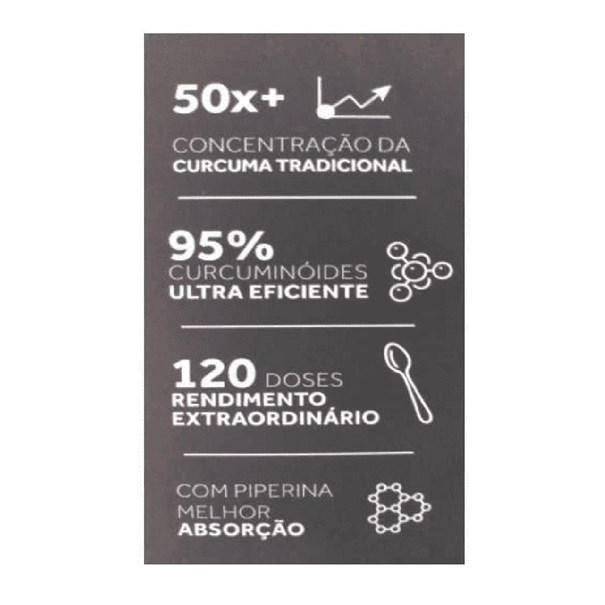 Imagem de Cúrcuma Curcumax extrato em pó Pura Vida 60g