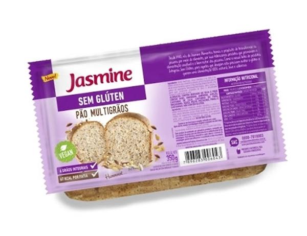 Imagem de Pão Sem Glúten Multigrãos Jasmine 350g
