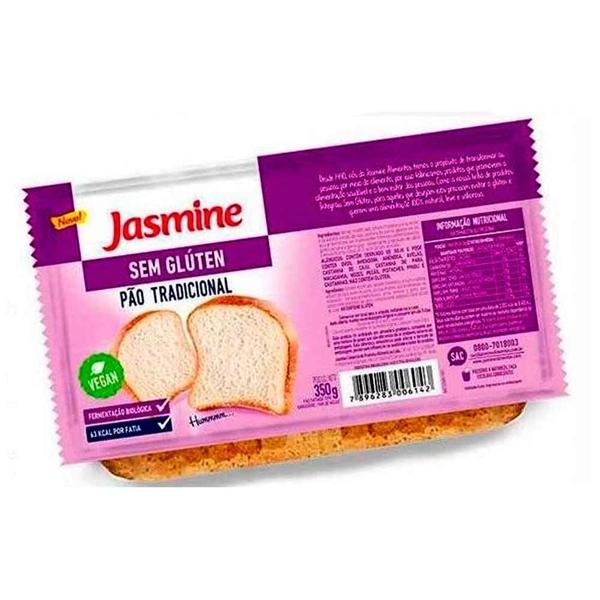 Imagem de Pão Sem Glúten Tradicional Jasmine 350g