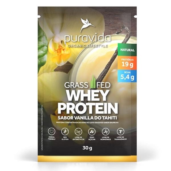 Imagem de Whey Protein GrassFed Vanilla Pura Vida 900g
