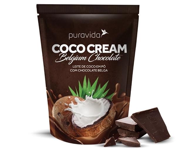 Imagem de Leite de Coco - Coco Cream Chocolate Pura Vida 250g