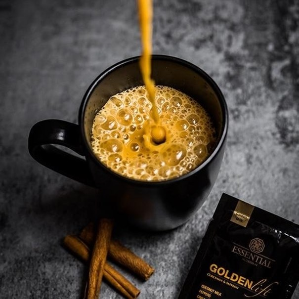 Imagem de Golden Lift Essential Nutriton lata 210g - Golden Milk