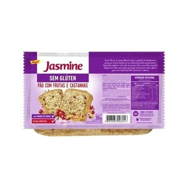 Imagem de Pão Sem Glúten Frutas e Castanhas Jasmine 350g