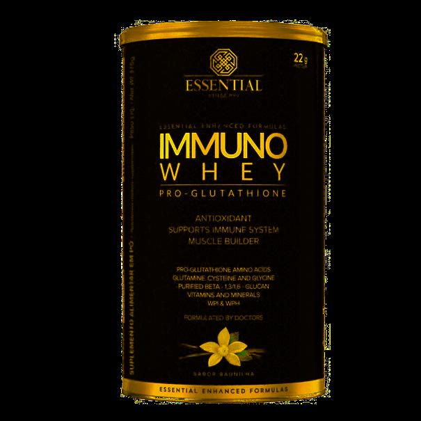 Imagem de Immuno Whey Essential Nutrition Baunilha 375g
