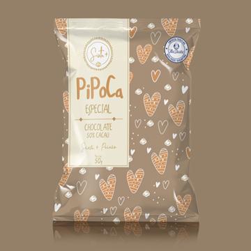 Imagem de Pipoca Sinta+ Paixão | Chocolate 50% Cacau 50g