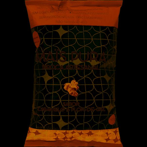 Imagem de Pipoca Mais Pura Artesanal Caramelo e Flor de Sal 150g