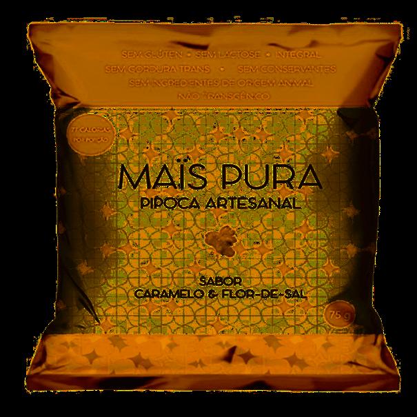Imagem de Pipoca Mais Pura Artesanal Caramelo e Flor de Sal 75g