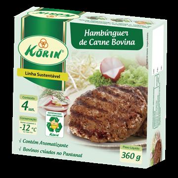 Imagem de Hamburguer de carne bovina Korin 360g