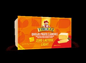 Imagem de Queijo prato light sem lactose tirolez (100 G)