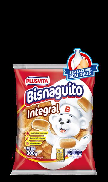 Imagem de Pão Bisnaguito Integral Plusvita 300g - sem lactose