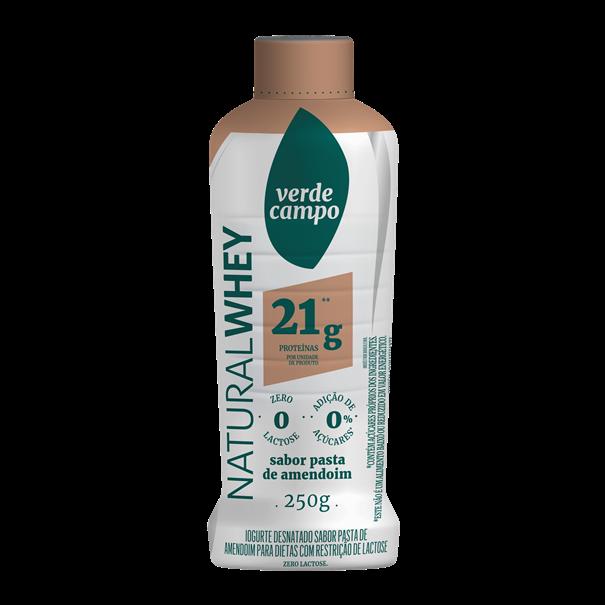 Imagem de Iogurte Natural Whey pasta de amendoim 250g- Verde Campo