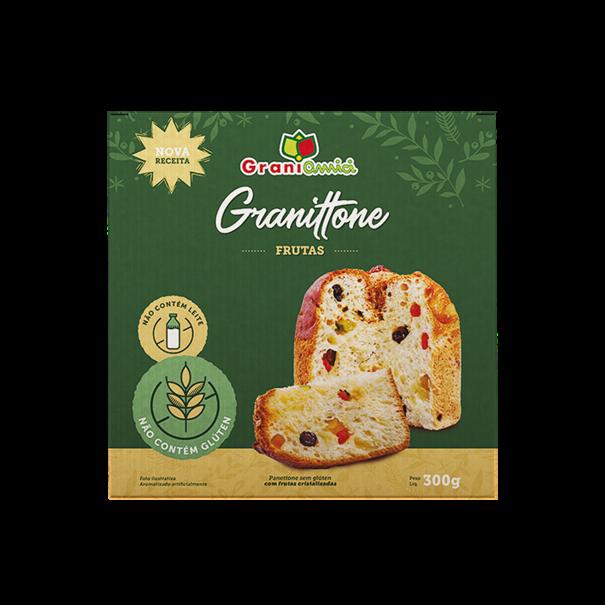 Imagem de Panetone  sem glúten graniamici Frutas 300g