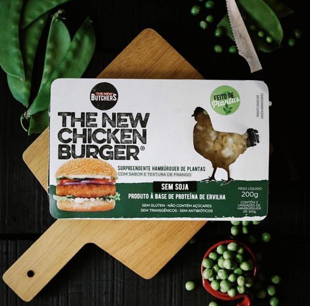 Imagem de The New Chicken Burguer - Butchers  200g