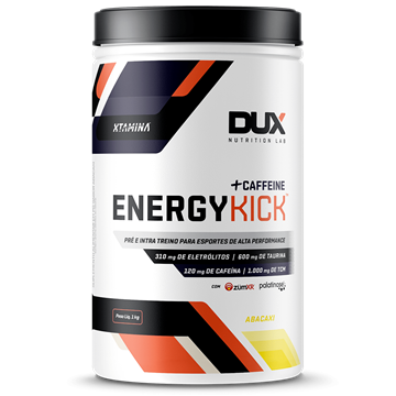 Imagem de Energy Kick Dux Caffeine Laranja 1000g