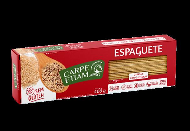 Imagem de Massa Espaguete Quinoa com Arroz - Carpe Etiam 400g