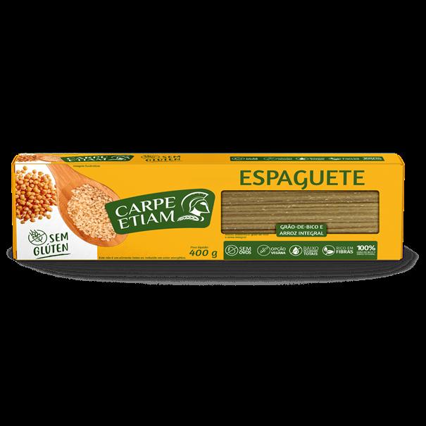 Imagem de Massa Espaguete Arroz com Grão de Bico -  Carpe Etiam  400g