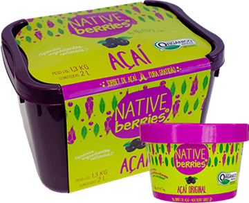 Imagem de Sorbet de Acai Original -  Native Berries 200g