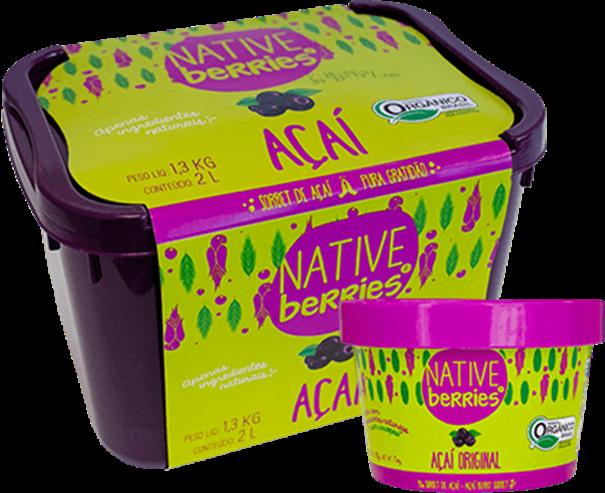 Imagem de Sorbet de Acai Original -  Native Berries 200g