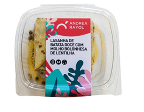 Imagem de Lasanha Andrea Rayol Batata Doce 300g