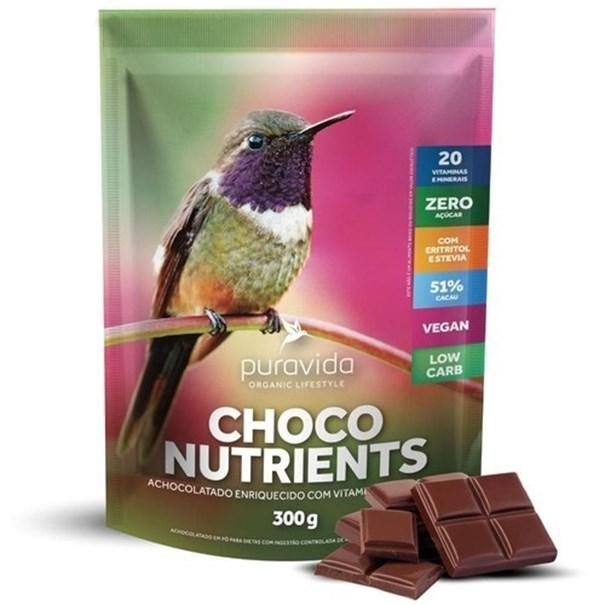 Imagem de Achocolatado Choco Nutrients Pura Vida 300g